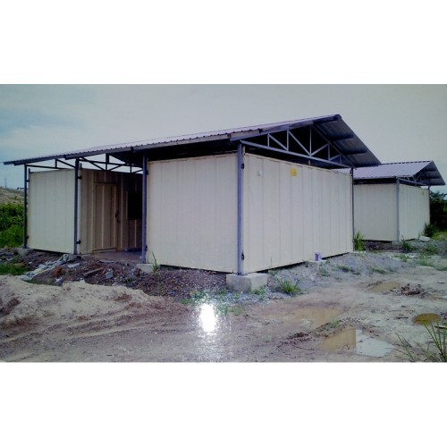 Heavy Duty Cabin With Roofing