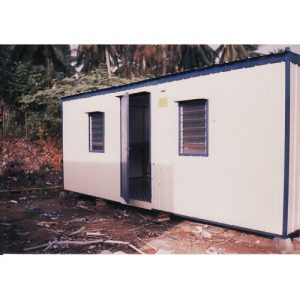 Portable Worker Quarter Cabin 01