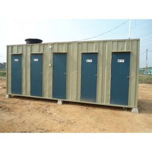 Toilet Cabin With Septic Tank